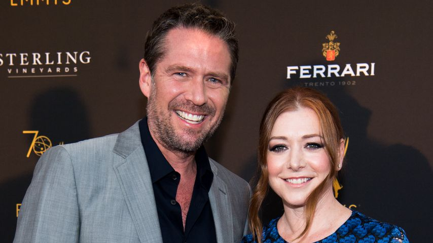 Alexis Denisof und Alyson Hannigan bei einem Event in Los Angeles