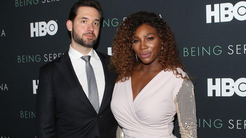 Alexis Ohanian und Serena Williams in New York