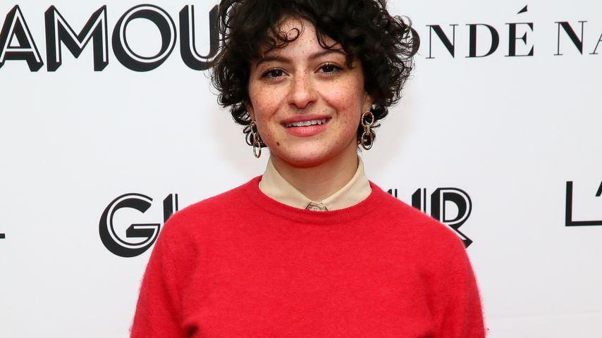 Alia Shawkat auf einer Tagung in NYC im November 2018