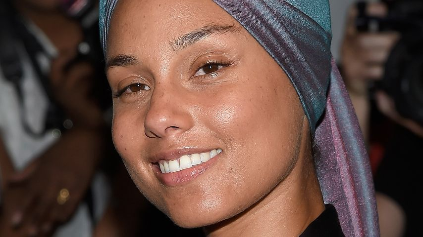 Alicia Keys bei der New York Fashion Week