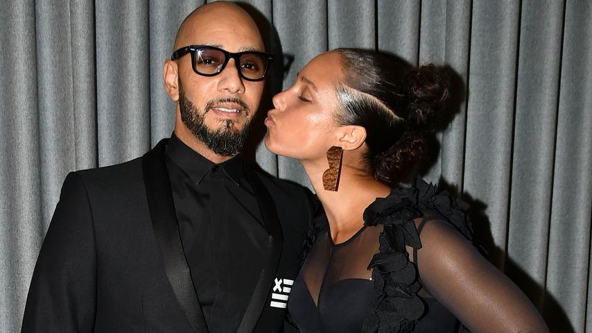 Alicia Keys und Swizz Beatz beim Brooklyn Artists Ball 2017