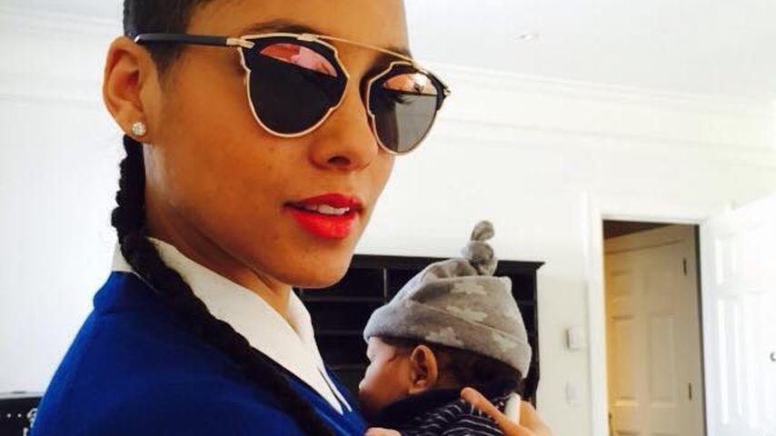 Alicia Keys und Genesis Ali Dean