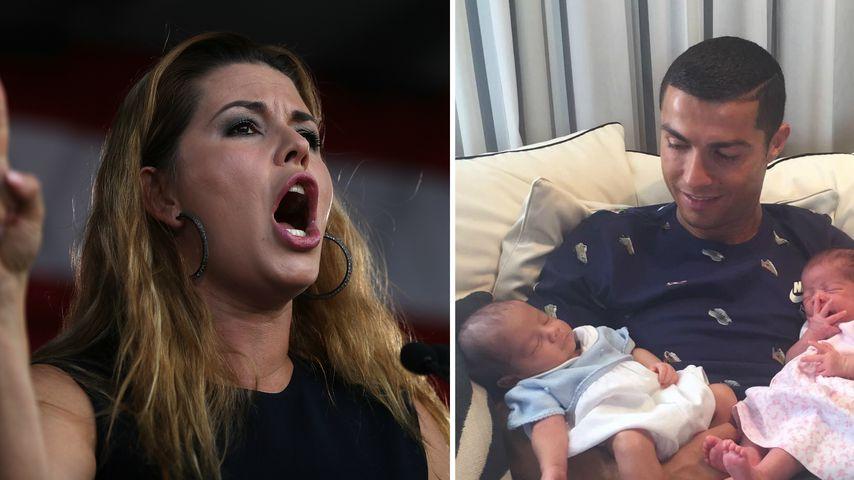 Wegen Leihmutter-Babys: Ex-Miss schießt gegen Ronaldo!