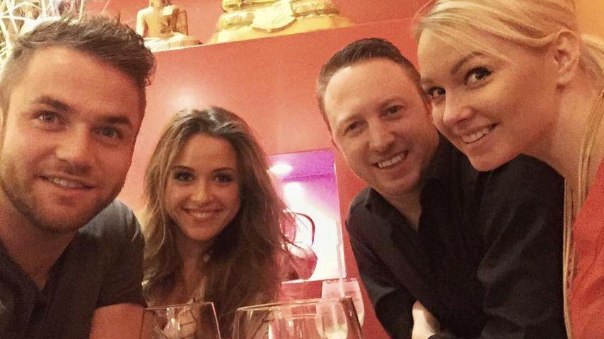 Mandy Lange, Alisa und Philipp Stehler