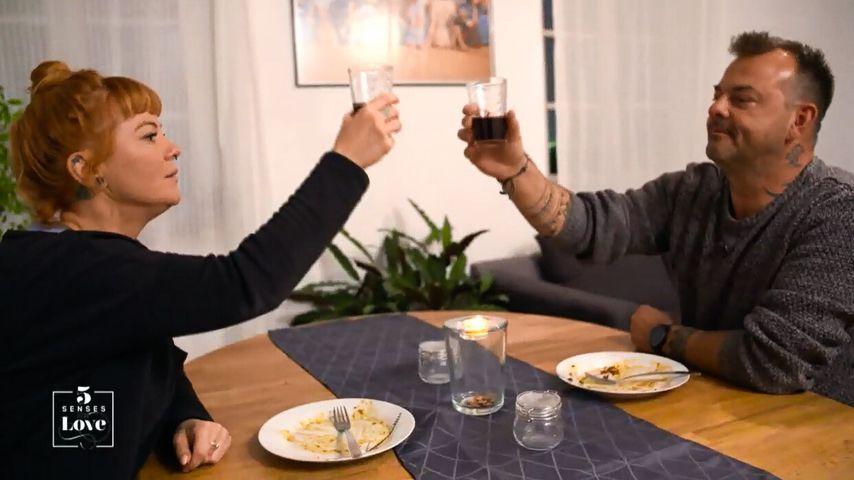 "Alissa und Sebastian in Folge sechs von ""5 Senses for Love"""