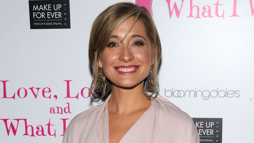 Allison Mack in New York 2010