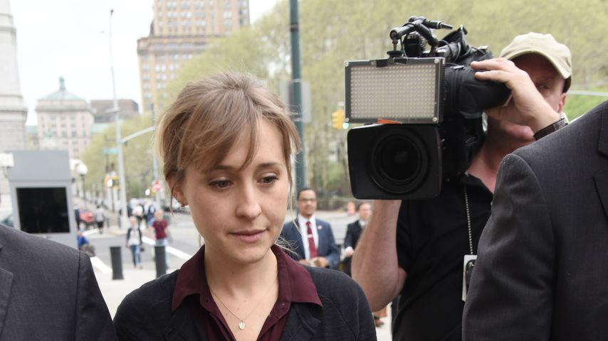 Allison Mack vor Gericht in Brooklyn, New York