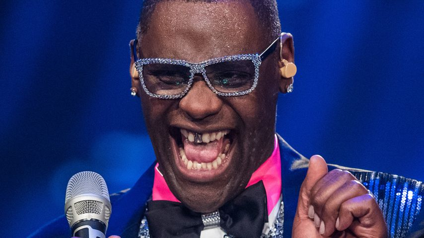 Alphonso Williams in einer DSDS-Liveshow