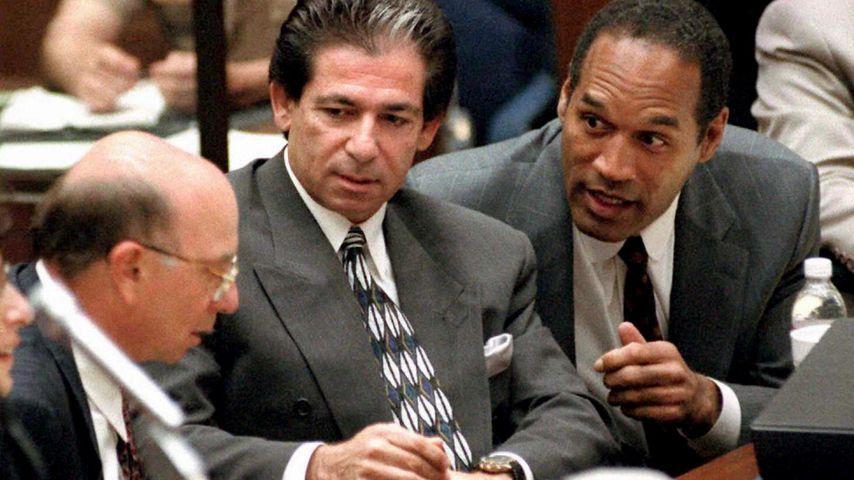 Alvin Michelson, Robert Kardashian Sr. und O.J. Simpson 1995