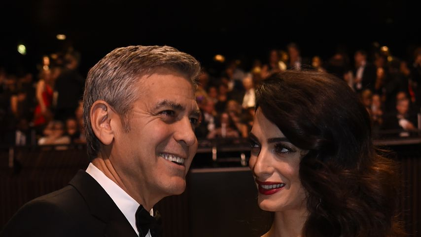 George und Amal Clooney in Paris
