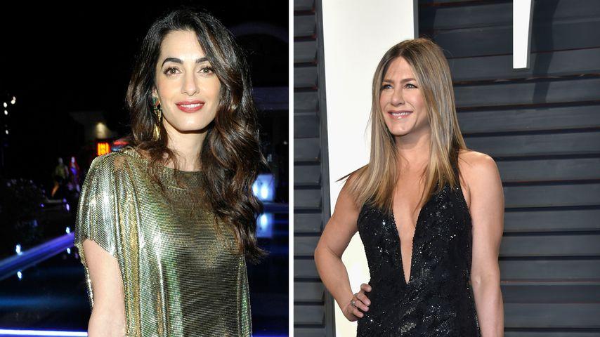 Amal Clooney hilft Jennifer Aniston bei der Liebhaber-Suche!