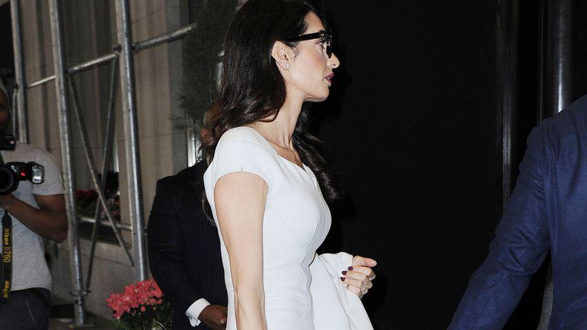 Amal Clooney im April 2019 in New York