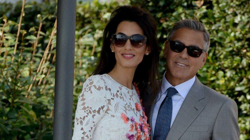 George & Amal: Flitterwochen auf Eis gelegt?