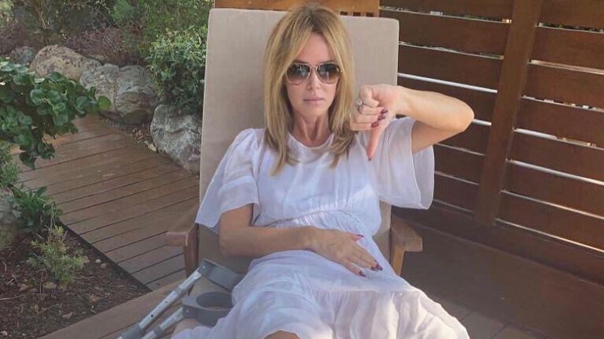 Amanda Holden brauchte mitten im Familienurlaub eine Not-OP
