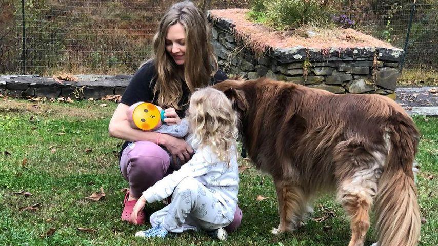Amanda Seyfried mit Tochter Nina und Sohn Thomas