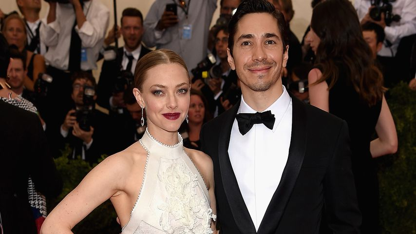 Amanda Seyfried und Justin Long in New York im Mai 2015