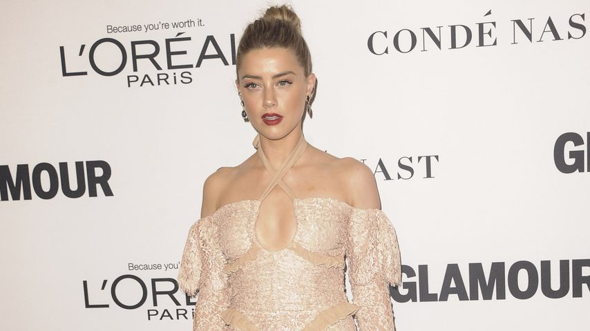 Amber Heard bei den Women of the Year Awards in Los Angeles im November 2016