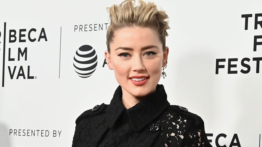 Amber Heard auf dem Tribeca Filmfestival in NYC im April 2019