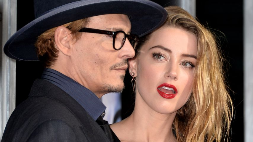 Johnny Depp und Amber Heard in Los Angeles
