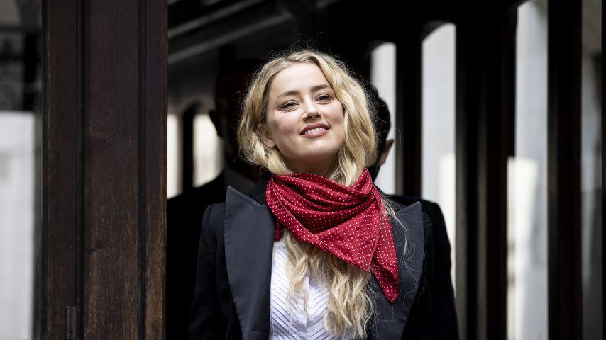 Amber Heard vor dem königlichen Gerichtshof in London 2020