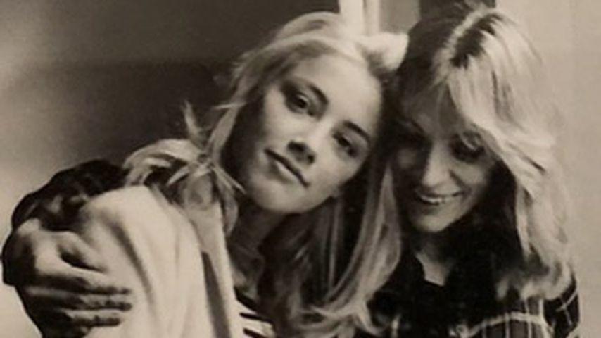 Amber Heard mit ihrer Mutter Paige Heard