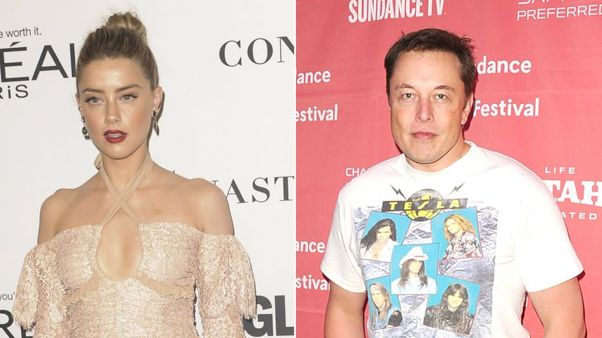 Liebe zum Frühstück! Amber Heard und Elon Musk daten wieder