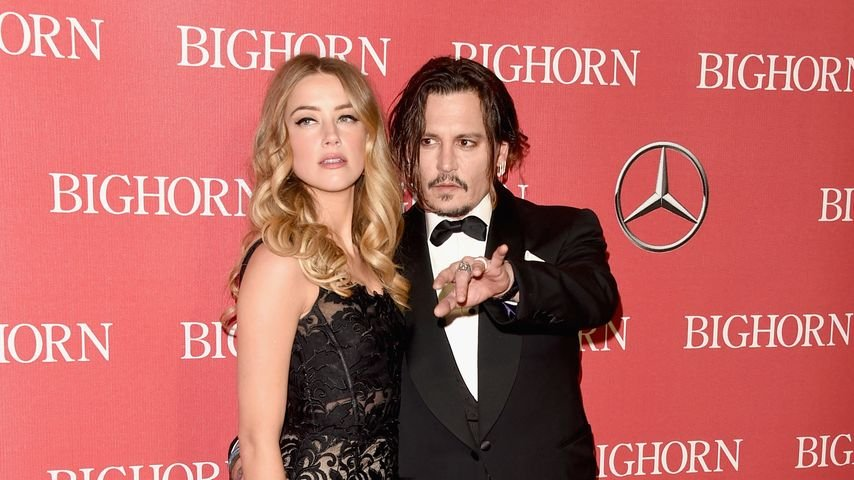 Amber Heard und Johnny Depp bei der Palm Springs International Film Festival Awards Gala