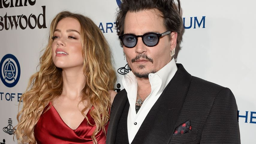 "Amber Heard und Johnny Depp bei der ""The Art of Elysium 2016 HEAVEN Gala"""