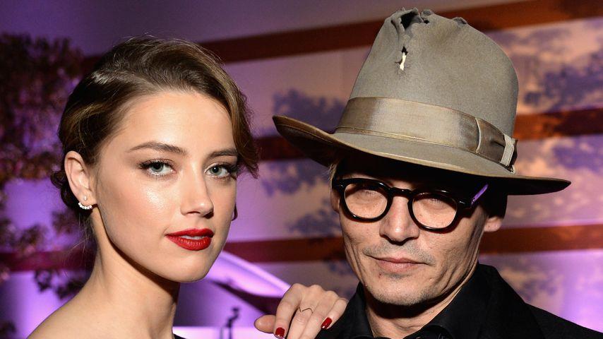 Amber Heard und Johnny Depp im Jahr 2014