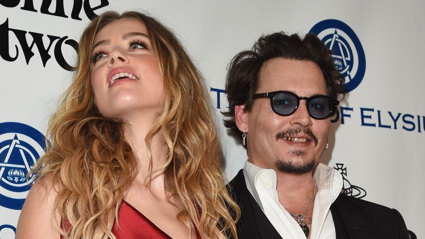 Amber Heard und Johnny Depp, 2016
