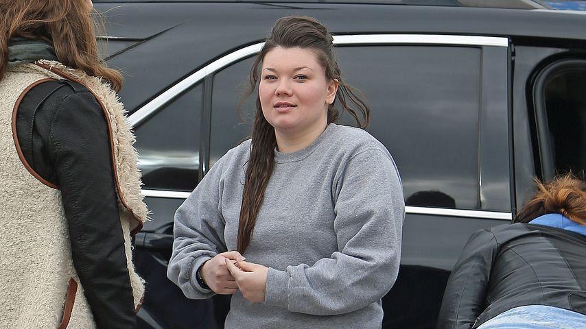 Amber Portwood nach ihrer Entlassung aus dem Gefängnis, November 2013