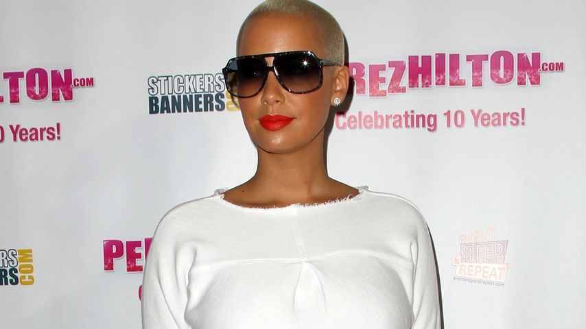 Amber Rose bei Perez Hilton Party