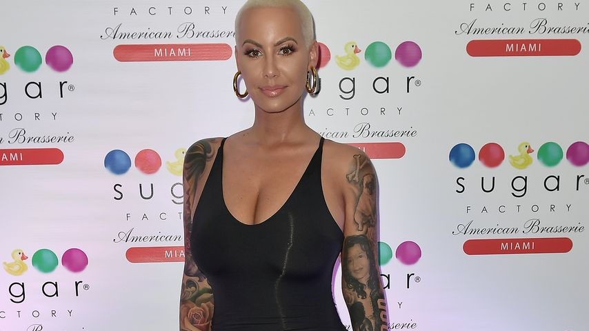 Amber Rose in Miami