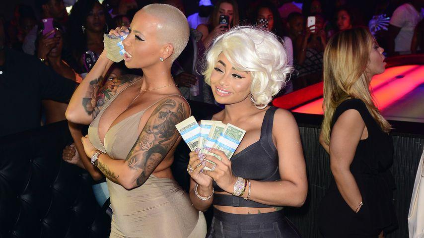Amber Rose verpulvert 10.000 Dollar im Strip-Club