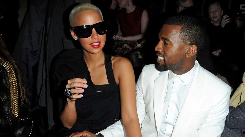 Amber Rose und Kanye West im Jahre 2010