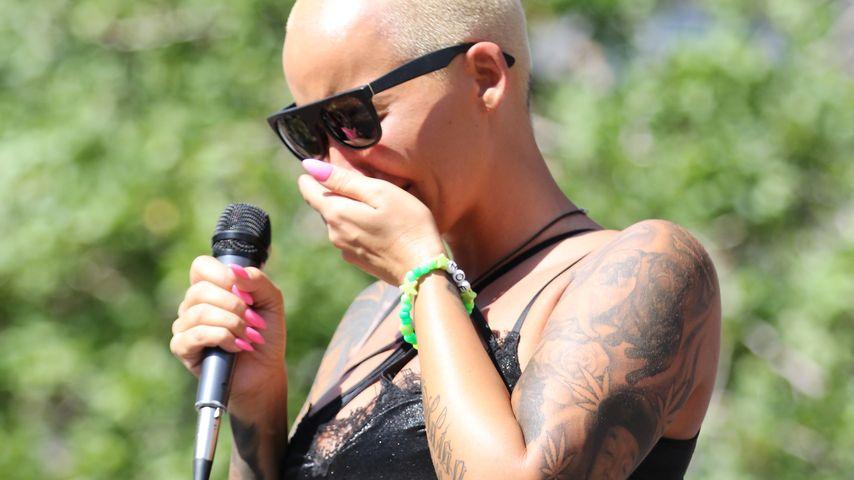 Wegen Ex Wiz Khalifa: Amber Rose bricht in Tränen aus!