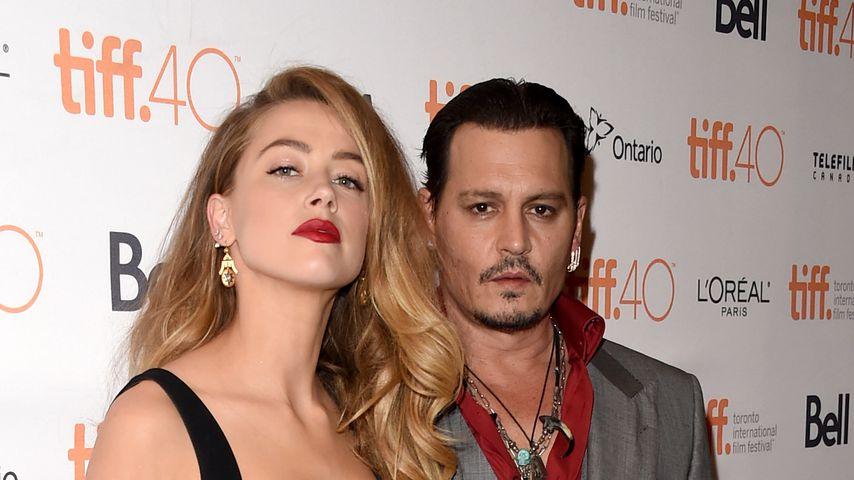 Amber Heard und Johnny Depp beim Toronto Film Festival 2015