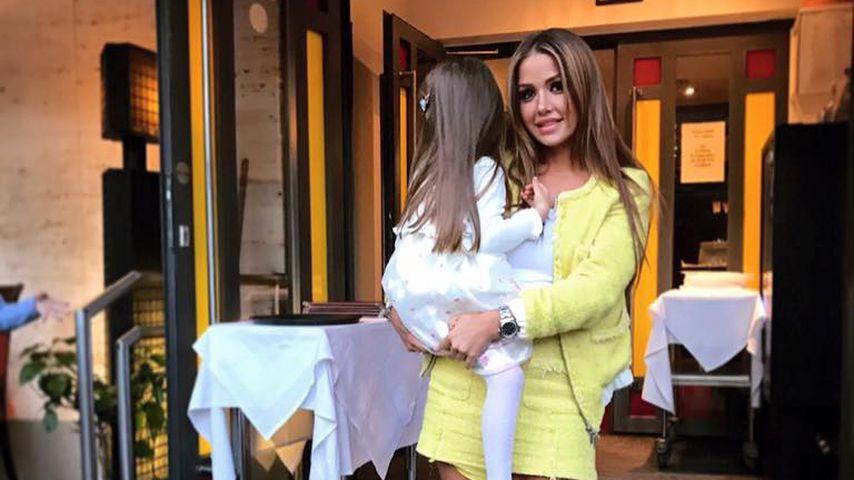 Kim Gloss mit Tochter Amelia Stark