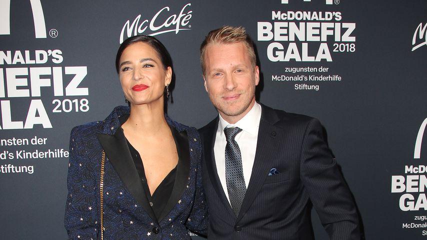 Amira Aly und Oliver Pocher bei der McDonalds Benefiz Gala 2018
