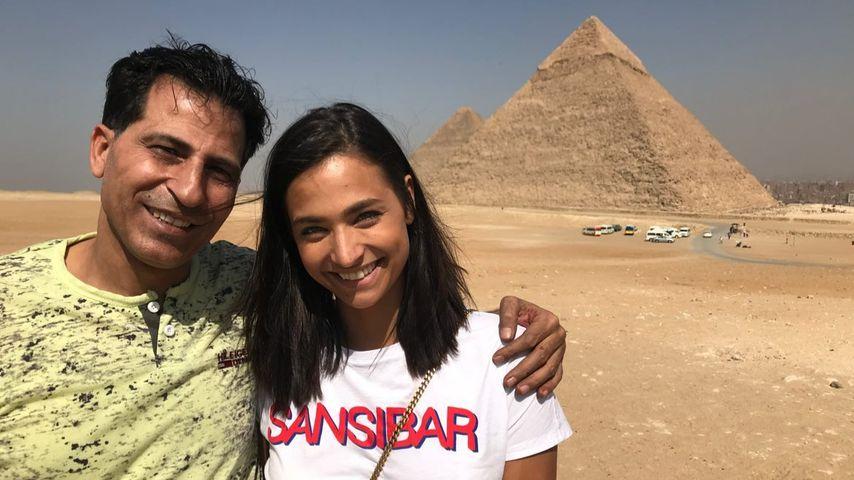 Private Aufnahme: Amira Pocher teilt Foto mit ihrem Vater