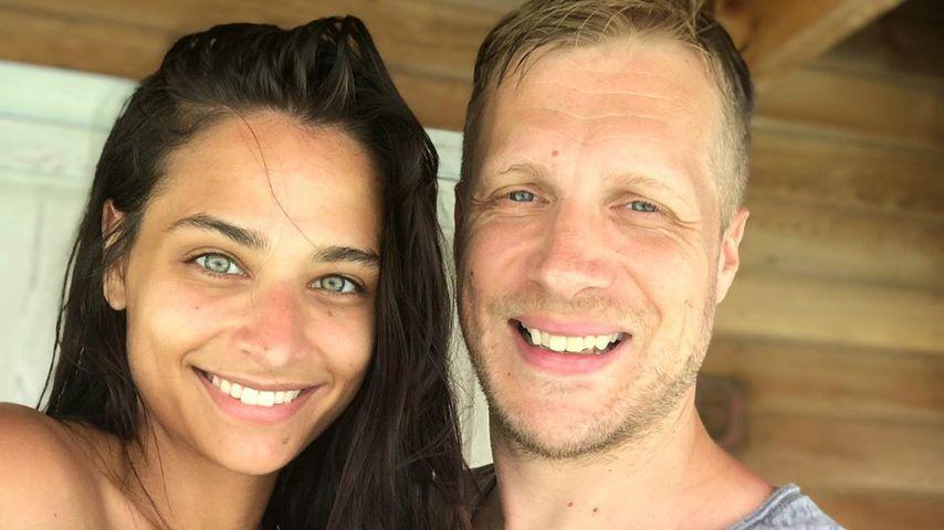Amira Pocher: Oli war ihr im Kreißsaal eine große Hilfe