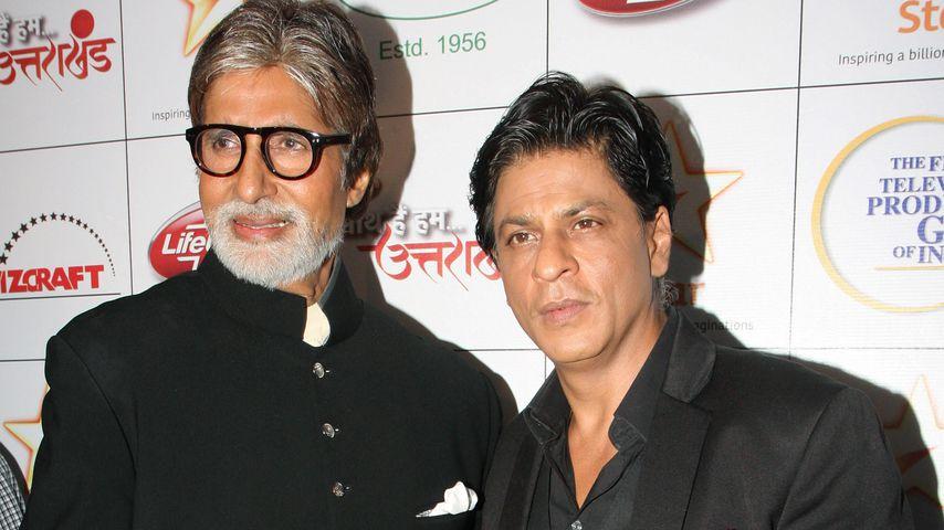 Amitabh Bachchan und Shah Rukh Khan