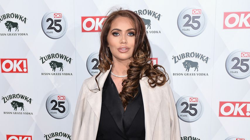 Amy Childs bei der OK! Magazine's 25th Anniversary Party im März 2018