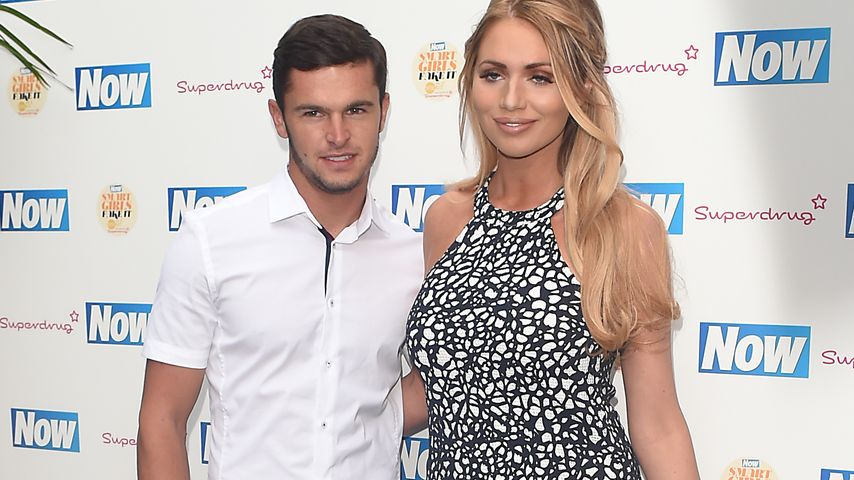 Amy Childs und Bradley Wright auf der Now Magazine Sommerparty 2015