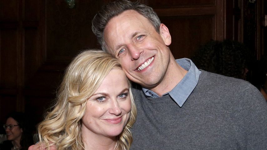 Amy Poehler und Seth Meyers im Mai 2019 in New York