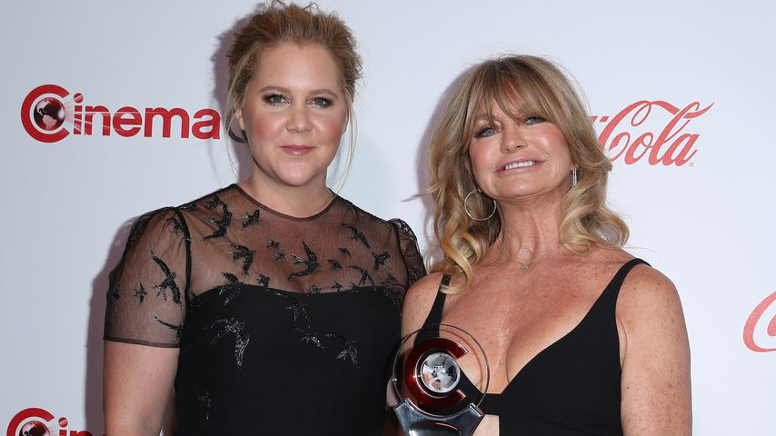 Amy Schumer und Goldie Hawn bei den CinemaCon 2017 Big Screen Achievement Awards