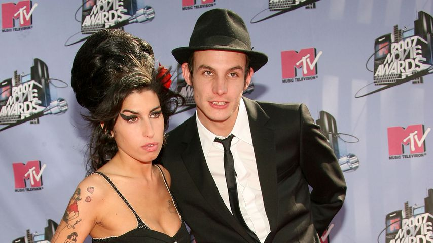Amy Winehouse und Blake Fielder-Civil bei den MTV Movie Awards 2007