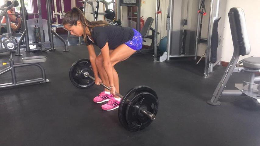 Ana Ivanovic beim Training für Olympia 2016