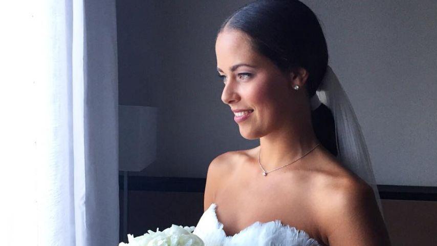 Wow! Wir sehen Ana Ivanovic schon vor Schweini im Brautkleid