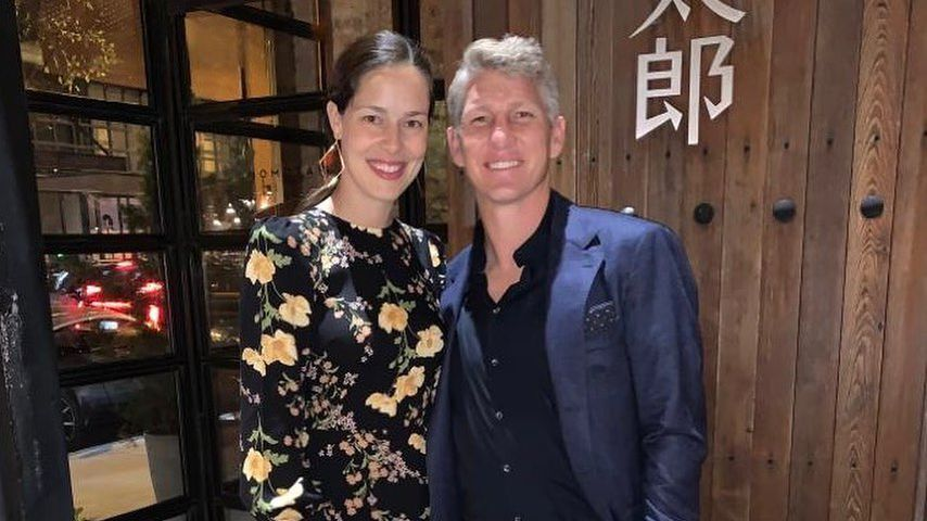 Ana Ivanovic und Bastian Schweinsteiger im September 2019